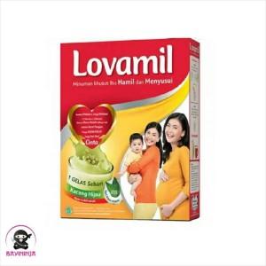 Harga lovamil ibu hamil kacang hijau susu box 120   HARGALOKA.COM