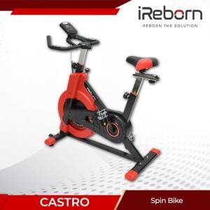 Harga alat fitness sepeda statis spin bike ireborn | HARGALOKA.COM