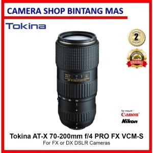 Harga tokina at x 70 200mm f 4 pro fx vcm s lens for   HARGALOKA.COM