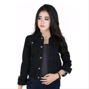 Harga jaket jeans cewe jaket denin jaket streat | HARGALOKA.COM