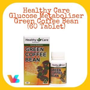 Harga healthy care green coffee bean 60 tablet | HARGALOKA.COM