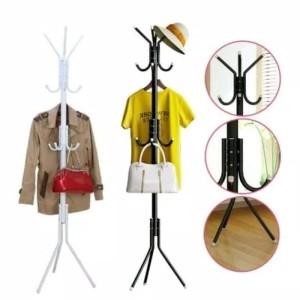 Harga stand hanger gantungan tiang berdiri hanger gantungan baju tas   | HARGALOKA.COM