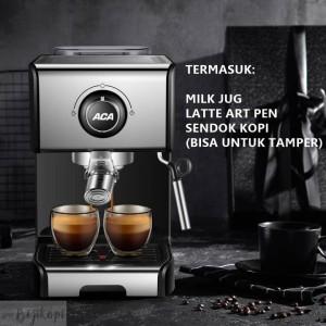 Harga mesin kopi aca kf0062 es12a espresso coffee   HARGALOKA.COM