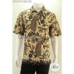 Harga kemeja batik modis lengan pendek spesial pria gemuk size xxl | HARGALOKA.COM