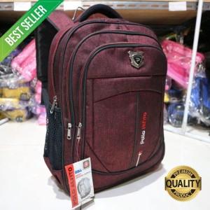 Harga backpack pria polo alfito ransel cowok bahan tebal kuat keren | HARGALOKA.COM