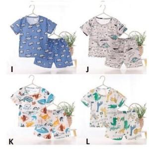 Harga babyfb set baju dan celana summer bahan katun umur 6bln 3 tahun part 2   motif k   HARGALOKA.COM