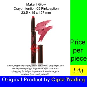 Harga lipstick   pixy   make it glow crayonttention 05   HARGALOKA.COM
