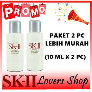 Harga sk ii sk2 skii promo facial treatment essence fte 10 ml x 2 | HARGALOKA.COM