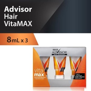 Harga makarizo advisor hair recovery vitamax 8ml x 3 vitamin | HARGALOKA.COM