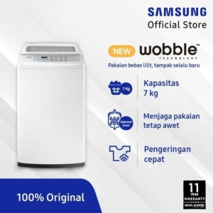Harga mesin cuci samsung wa70h4200 top loading 7 kg mesin cuci 1 | HARGALOKA.COM