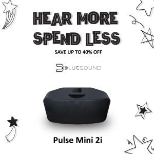 Harga bluesound pulse mini 2i music streaming speaker   | HARGALOKA.COM