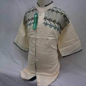 Harga jual baju koko anak atasan muslim laki   laki lengan pendek termurah   13 14 tahun | HARGALOKA.COM