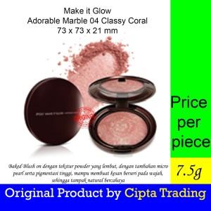 Harga blush on   pixy   make it glow adorable marble 04 classy   HARGALOKA.COM