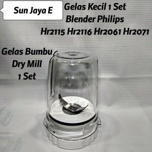 Harga gelas blender philips bumbu dry mill 1set | HARGALOKA.COM