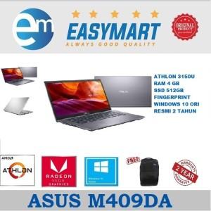 Harga laptop asus m409da   athlon 3105u   4gb   512gb ssd   14 34   win10   310502 | HARGALOKA.COM
