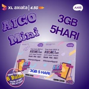 Harga pv voucher axis aigo 3gb 15 hari vcr | HARGALOKA.COM