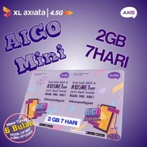 Harga pv voucher axis aigo 2gb 7 hari vcr | HARGALOKA.COM