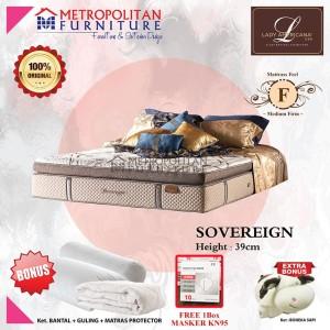 Harga kasur springbed lady americana sovereign spring bed matras   100 x | HARGALOKA.COM
