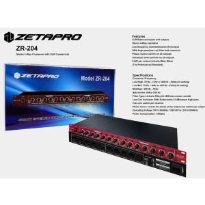 Harga speaker crossover active 4 way zetapro zr 204 zr204 original | HARGALOKA.COM