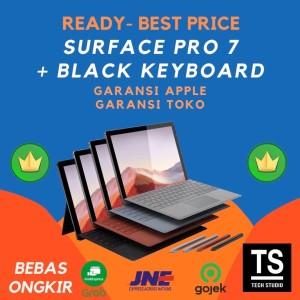 Harga microsoft sufrace pro 7 i5 8gb 128gb keyboard black surface pro 7   non bundle | HARGALOKA.COM