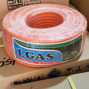 Harga selang gas 2 lapis selang roll merk lgas panjang 50 | HARGALOKA.COM