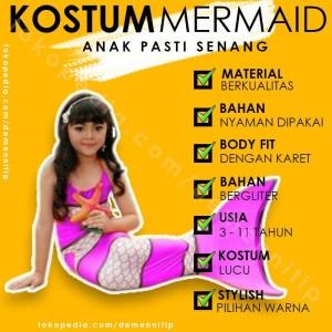 Harga Baju Duyung Anak Perempuan Katalog.or.id