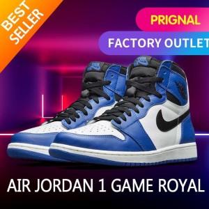 Harga nike air jordan 1 high game royal blue original sneakers   | HARGALOKA.COM