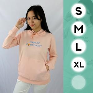 Harga jaket sweater hoodie tangan lengan panjang wanita status st14394   pink | HARGALOKA.COM