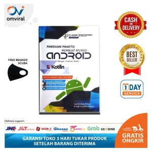 Harga buku membuat aplikasi android dengan android studio kotlin lain 0009 | HARGALOKA.COM