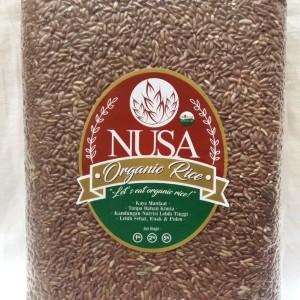 Harga beras merah pecah kulit organik organic 2kg nusa jakarta barat utara   HARGALOKA.COM
