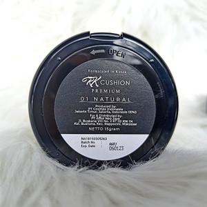 Harga rk cushion premium viral bpom original bedak glowing natural ivory   | HARGALOKA.COM