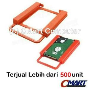 Harga ssd hdd caddy bracket 2 5 34 to 3 5 34 hardisk hard disk   | HARGALOKA.COM