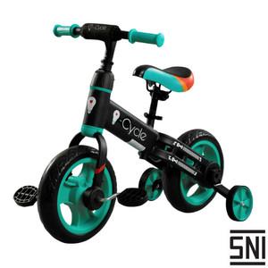 Harga sepeda anak 4 roda balance bike icycle bronco   ride star  lisensi sni   | HARGALOKA.COM