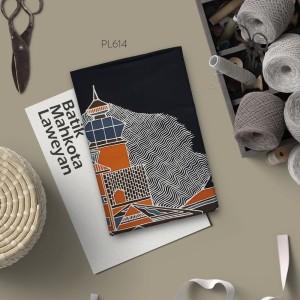 Harga kain batik tulis solo abstrak pola kontemporer   HARGALOKA.COM