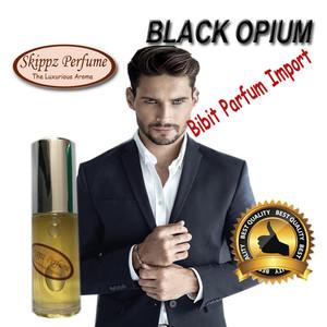 Harga parfum pria cowok aroma black opium man spray bibit refill import   15 | HARGALOKA.COM