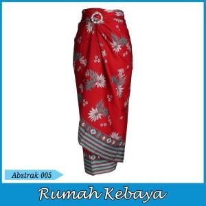 Harga rok batik bawahan lilit halus royal print serut abstrak 005   | HARGALOKA.COM