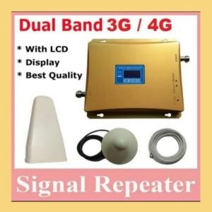 Harga penguat sinyal hp repeater boster antena gsm 2100 3g amp 1800 4g lte   HARGALOKA.COM
