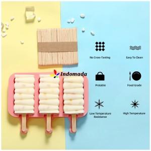 Harga cetakan homemade es krim cokelat jelly silikon sabun ice cream square     HARGALOKA.COM