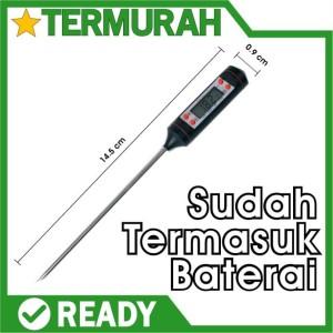 Harga digital termometer thermometer food cooking susu kopi makanan | HARGALOKA.COM