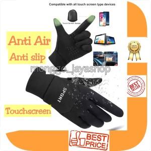 Harga sarung tangan motor amp sepeda waterproof sport touchsreen anti slip     HARGALOKA.COM