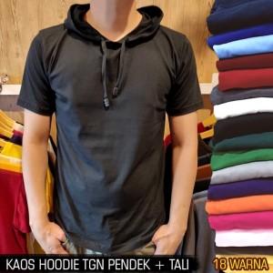 Harga kaos polos hoodie pria wanita 24s lengan pendek amp lengan panjang   s kaoshodie | HARGALOKA.COM