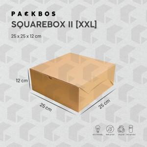 Harga square box ii xxl   kotak dus boks kue donat | HARGALOKA.COM