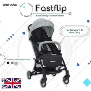 Harga stroller babydoes fastflip autofold kereta dorong bayi cabin size   dark | HARGALOKA.COM