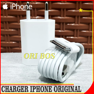 Harga charger iphone 4 4s 4g 3g ipad 1 2 3 ipod itouch apple | HARGALOKA.COM