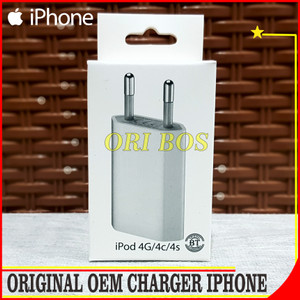 Harga charger iphone 4 4s 4g 3g ipad 1 2 3 ipod itouch apple original | HARGALOKA.COM