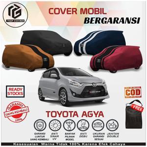 Harga body cover sarung mobil agya selimut penutup tutup mantel toyota agya   polos kode 1 foto   | HARGALOKA.COM
