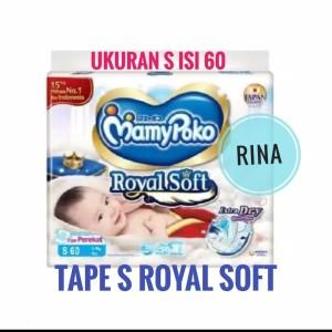 Harga mamypoko tape s royal soft mamy poko perekat popok sekali   HARGALOKA.COM