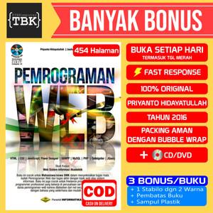 Harga bestseller buku pemrograman web edisi revisi cd priyanto   HARGALOKA.COM