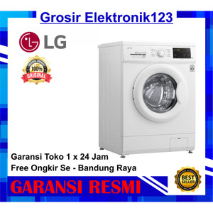 Harga lg fm1007n3w mesin cuci front loading inverter 7 kg fm1007 1000   HARGALOKA.COM