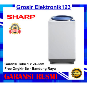 Harga mesin cuci sharp 1 tabung 9 kg es m906p gb gr   HARGALOKA.COM